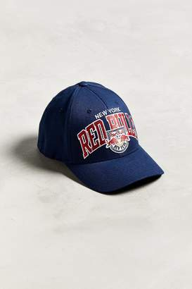 e59237e9655 at Urban Outfitters · Mitchell   Ness New York Red Bulls Flex Fit Baseball  Hat