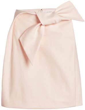 37ec682791 DELPOZO STYLEBOP.com Exclusive Bow Skirt in Cotton