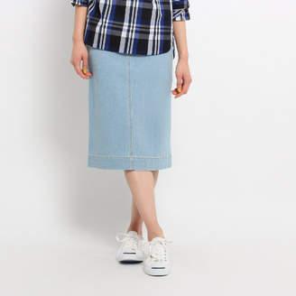 Dessin (デッサン) - Dessin(Ladies) ミモレ丈デニムタイトスカート