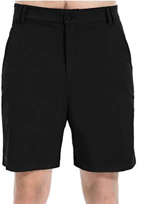 Co Trailside Supply Men's Ripstop Basic Stretchy Casual Short--Black--