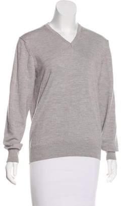J. Lindeberg V-Neck Wool Sweater