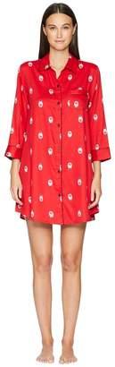 Kate Spade Sateen Dolls Sleepshirt Women's Pajama Sets
