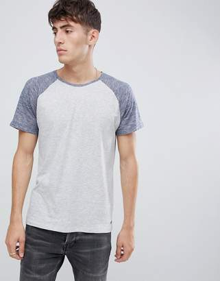 Esprit Raglan T-Shirt With Contrast Sleeve