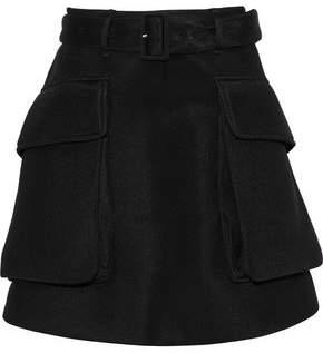 Simone Rocha Belted Neoprene Mini Skirt