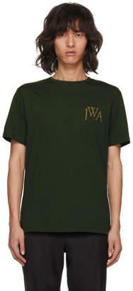 J.W.Anderson Green Logo T-Shirt