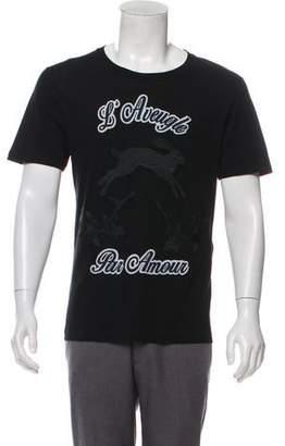 27621eebffc Gucci L Aveugle Par Amour Graphic T-Shirt