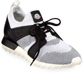 Moncler Men's Emilien Mesh Knit Training Sneakers