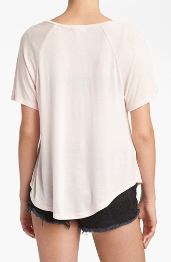 Leith Drop Front Tee
