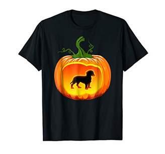 Dachshund Dog Pumpkin Halloween Shirt
