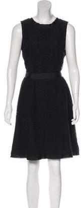 Armani Collezioni Sleeveless A-Line Dress