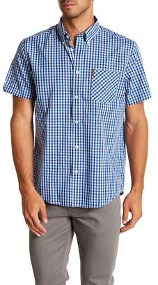 Ben Sherman Mod Gingham Short Sleeve Regular Fit Shirt