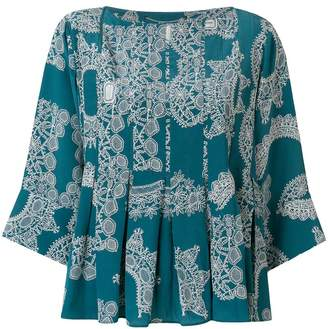 Carven printed blouse