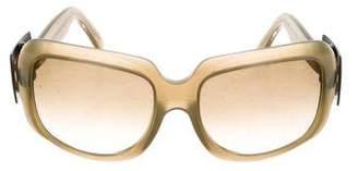 Roger Vivier Square Buckle Sunglasses