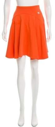 Kenzo Pleated Knee-Length Skirt