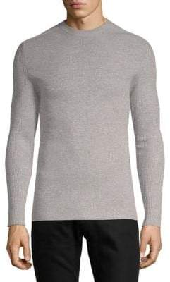 Brioni Ribbed Crewneck Sweater