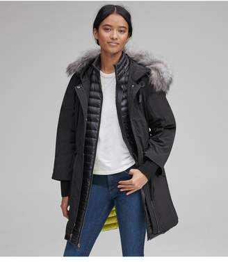 Andrew Marc Brixton Crinkle Cloth Down Parka
