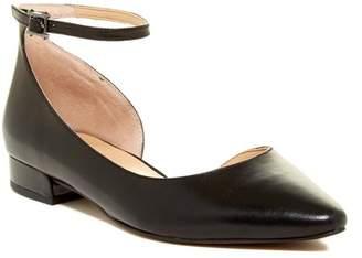 Franco Sarto Slide Leather d'Orsay Flat