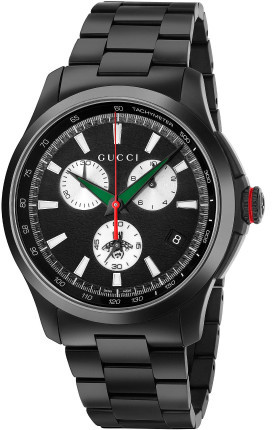 mens gucci chronograph watch shopstyle gucci g timeless chronograph collection timepiece