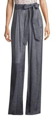 Milly Stretch Linen Pants
