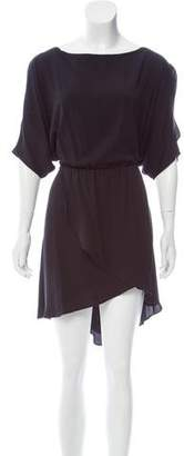 Elizabeth and James Short Sleeve Mini Dress