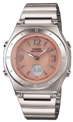 Casio (カシオ) - [カシオ]CASIO 腕時計 WAVE CEPTOR ウェーブセプター タフソーラー 電波時計 MULTIBAND 6 LWA-M141D-4AJF レディース