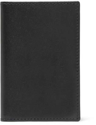 Comme des Garcons Leather Cardholder - Black