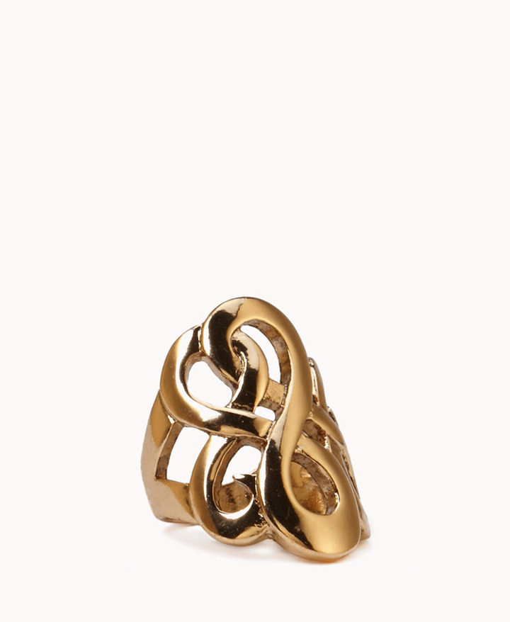 Forever 21 Layered Infinity Ring