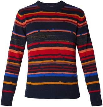 Missoni Striped cashmere and wool-blend sweater