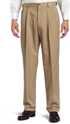 64979d359cb91 at Amazon Canada · Haggar Men s Cool 18 Hidden Expandable Waist Pleat Front  Pant
