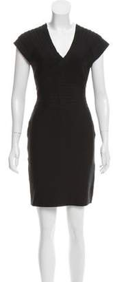 Herve Leger Mini Bandage Dress Black Mini Bandage Dress
