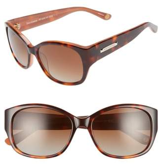 Juicy Couture 54mm Polarized Sunglasses