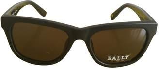 Bally Black Plastic Sunglasses
