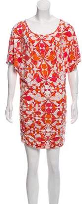 Emilio Pucci Printed Knee-Length Dress
