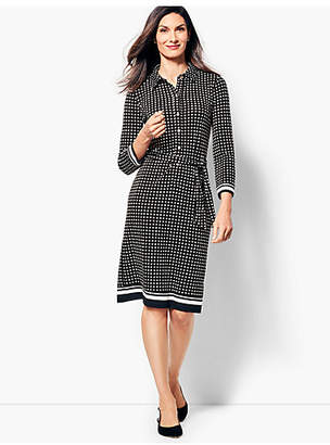 Talbots Jersey Shirtdress