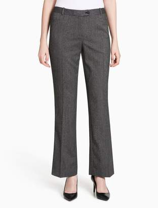Calvin Klein straight fit mini houndstooth suit pants