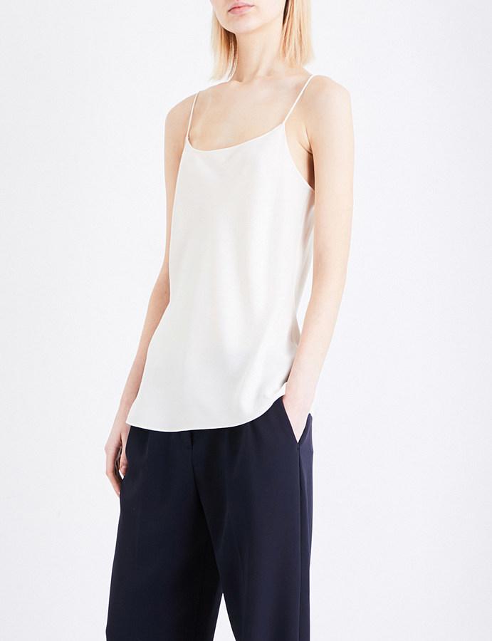 TheoryTheory Teah silk-crepe camisole