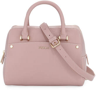 Furla Margot Small Leather Satchel Bag