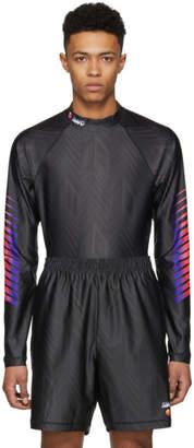 Alexander Wang Black Long Sleeve Athletic T-Shirt