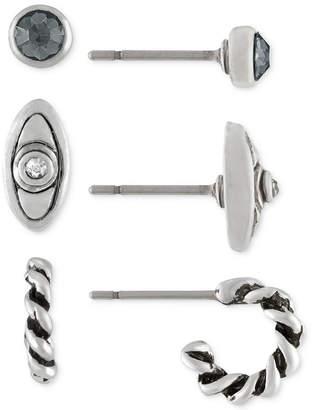 Rachel Roy Silver-Tone 3-Pc. Earrings Set