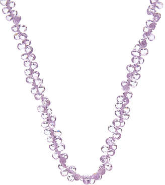 Effy Fine Jewelry 14K Rose Gold 59.92 Ct. Tw. Amethyst Gemstone Necklace