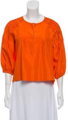 Apiece Apart Silk Oversize Blouse