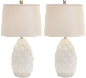 Uma Enterprises Set Of 2 28In Table Lamps