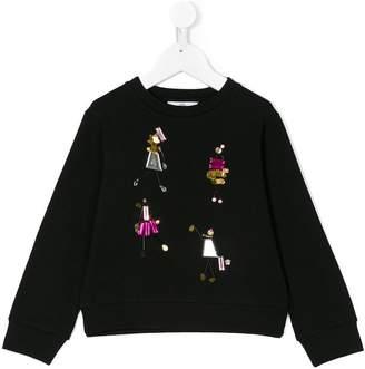 Versace embellished sweatshirt
