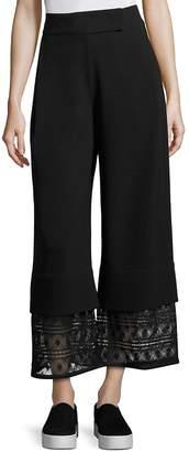 Public School Women's Liz Crepe Wide Legs Pants
