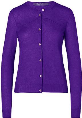 Ralph Lauren Cashmere-Silk Western Cardigan $990 thestylecure.com
