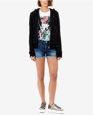True Religion Jennie Curvy-Fit Denim Shorts