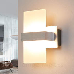Formschöne LED-Wandleuchte Platon