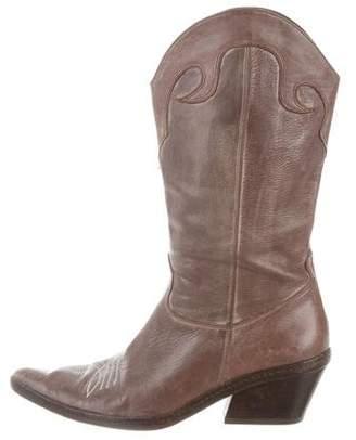 Joseph Distressed Cowboy Boots