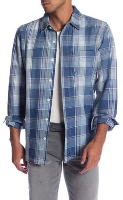 Current/Elliott Plaid Classic Fit Shirt