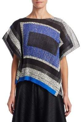 Pleats Please Issey Miyake Union Block Top